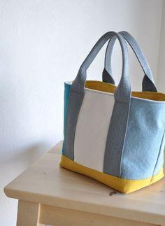 Handmade Waxed Canvas Tote Bag Handbag Shopper Bag Daily Bag for Women 14005