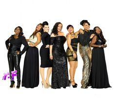 Angie Stone with the R Divas cast