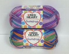 #Red Heart Gumdrop Yarn!