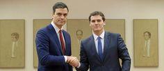 Una nueva ley electoral la baza que esconde Pedro Sánchez para gobernar con Ciudadanos