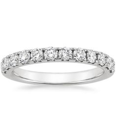 Platinum Luxe Anthology Diamond Ring from Brilliant Earth