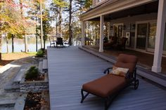 Renovated Porch and Deck on the Shores of Lake Norman.
