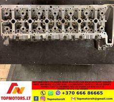 Refurbished Cylinder Head 8515145 For BMW N57D30C ENGINE PART NUMBERS 11128573401 11128506591 N57X 5 7 X5 X6 SERIES M50DX F10 F11 M550DX F01 LCI 750DX X5 E70 LCI F15 M50DX X6 E71 F16 M50DX Engine Rebuild, Cylinder Head, Header, Engineering, The Unit, Etsy, Oil, Pump, Electrical Engineering