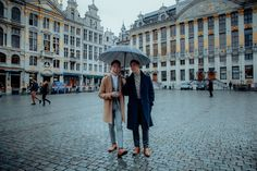 They posed beside murals, in a rainbow crosswalk and on stone streets. They also got some romantic photos in the rain. The post Urban engagement session on the streets of Brussels appeared first on Equally Wed, modern LGBTQ+ weddings + LGBTQ-inclusive wedding pros. Stone Street, Save The Date Photos, Romantic Photos, Niece And Nephew, New Chapter, Brussels, Murals, Engagement Session, Rainbow