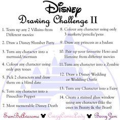 #DisneyDrawingChallenge2017 | Sam Segal on Patreon