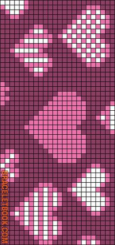 Rotated Alpha Pattern added by KotinKandy Tapestry Crochet Patterns, Bead Loom Patterns, Weaving Patterns, Knitting Charts, Knitting Patterns, Cross Stitch Designs, Cross Stitch Patterns, Cross Stitching, Cross Stitch Embroidery