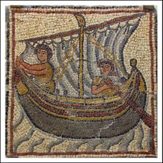 Byzantine Mosaic 4th century Qsar Libya