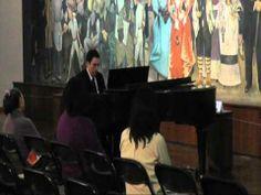 David García y la música inspirada en Copo de Algodón en el Museo Mural Diego Rivera