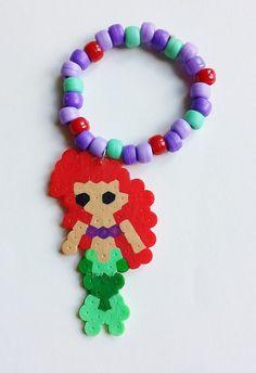 Ariel The Little Mermaid Disney Princess Kandi Bracelet