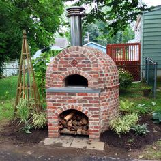 And finally, MY pizza oven.
