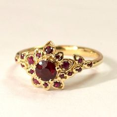Nothing found for 07 05 Ruby Art Deco Petal Engagement Ring Gold And Ruby Engagement Ring Leaf Ring Flower Ring Natural Ruby Ring Halo Ring Rubies 2 Ruby Jewelry, Jewelry Rings, Jewelry Accessories, Fine Jewelry, Gold Jewelry, Daisy Jewellery, Tiffany Jewelry, Stylish Jewelry, Jewelry Ideas