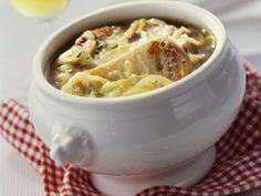 Elsässer Zwiebelsuppe ist ein Rezept mit frischen Zutaten aus der Kategorie Gemüsesuppe. Probieren Sie dieses und weitere Rezepte von EAT SMARTER!