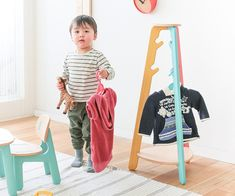 This item is shipped only to countries other than Japan. Best Interior, Interior Goods, Asahikawa, Japanese Furniture, Twitter Design, Toddler Furniture, Nursery School, Wooden Tops, Coat Hanger