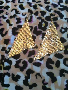 Gold Dangle by GlamLifeAccessories on Etsy, $7.00
