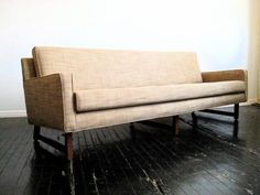 Mid-Century 7-foot Sofa