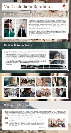 Gli infoposter della Rete degli Spettatori : Via Castellana Bandiera di Emma Dante