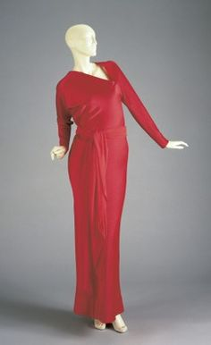Dress Halston, 1970s The Cincinnati Art Museum