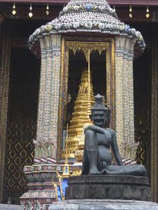 Suitcases and Lattes Palace Tour, Bangkok, African, Tours, Statue, Adventure, Suitcases, Travel, Art