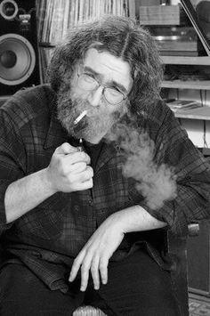 Jerry smokes...