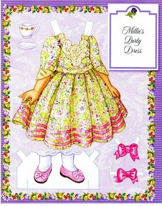 Millie's Paper Doll Collection.This From isanere1 - MaryAnn - Picasa Web Albums