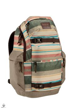 Plecak Burton Kilo 27L Burton Snowboards, Stripe Print, Snowboarding, Backpack Bags, Skateboard, Laptop, Backpacks, Beige, Men