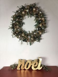 ornament wreath, christmas decorations, crafts, home decor, lighting, seasonal holiday decor, wreaths
