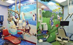 Photos of Beach Themed Dental Practice | Imagination Dental Solutions