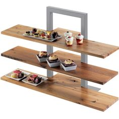 Cal-Mil Reclaimed Wood Frame Riser Shelf for 1464 & 32 x D - Regal Selber Bauen