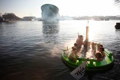 This Floating Hot Tub is Peak Relaxation — Design News