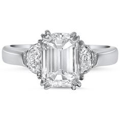 Platinum  The Stacia Ring from Brilliant Earth-- Perfect