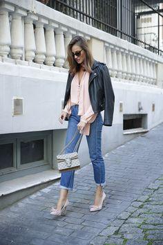 pink stilettos looks - Lady Addict