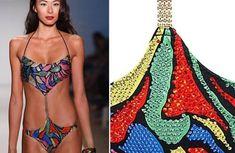 10 bikinis originaux swarovski   10 bikinis originaux   teton requin photo nintendo maillot de bain image geek bikini