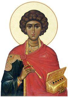 São Pantaleão Ícone Byzantine Icons, Byzantine Art, Religious Icons, Religious Art, Greek Icons, Roman Church, Pictures Of Jesus Christ, Russian Icons, Orthodox Icons