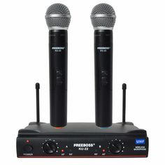 Freeboss KU-22 UHF Long Range Dual Channel 2 Handheld Mic Transmitter Professional Karaoke UHF Wireless Microphone System    // //  Price: $US $71.00 & FREE Shipping // //     Buy Now >>>https://www.mrtodaydeal.com/products/freeboss-ku-22-uhf-long-range-dual-channel-2-handheld-mic-transmitter-professional-karaoke-uhf-wireless-microphone-system/    #Mr_Today_Deal