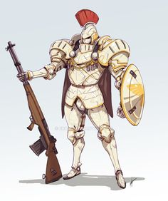 just wanna make a knight version of on my favorite mech designs Character Creation, Character Concept, Character Art, Concept Art, Character Design, Character Portraits, Fantasy Inspiration, Character Inspiration, Medieval