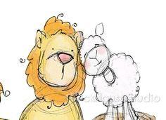 22 Best Lionlamb Images Lion Lamb Lamb Paintings
