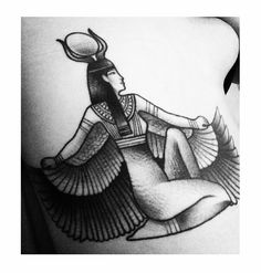 The first Goddess - Isis