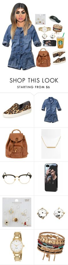 """""""18 May, 2015"""" by jamilah-rochon ❤ liked on Polyvore featuring Sam Edelman, Abercrombie & Fitch, Gucci, Nordstrom, Sunday Somewhere, Topshop, Charlotte Russe, Kate Spade and ALDO"""