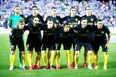 Equipos de fútbol: ATLÉTICO DE MADRID contra Leganés 27/08/2016