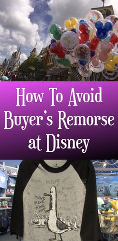 Disney is filled with temptations! These are things that we regret buying at Walt Disney World!