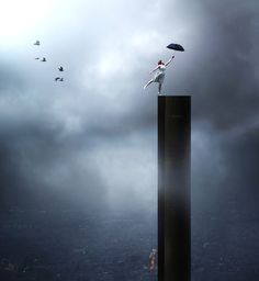 George Christakis is a modern day Surrealist. His visual art, generally photo manipulations, includes a collection of haunting photographs that seem to have hidden meanings or don't quite make sense