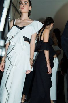 e5a822aaa8ebb Behind the scenes at Proenza Schouler from Paris couture week. Fashion  Face