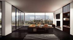 Render interior con Lumion 5 Interior Rendering, Divider, Room, Furniture, Home Decor, Interior Design, Architecture, Bedroom, Decoration Home