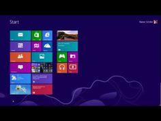 Windows 8 - Teil 1: Einführung in die Oberfläche - YouTube