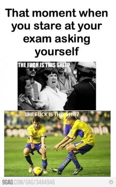 I should probably studying for exams rather than looking up funny memes to make me feel better….