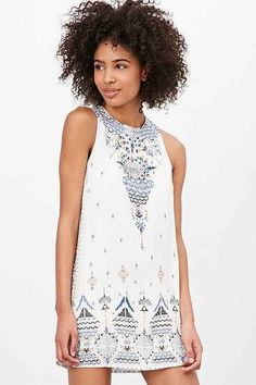 UO Guinevere Printed Dress