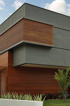 facades Projekte - Lineastudio Gardening By The Yard Tips You have always been envious of your neigh Villa Design, Facade Design, Exterior Design, House Front Design, Modern House Design, Building Facade, Building Design, Facade Architecture, Residential Architecture