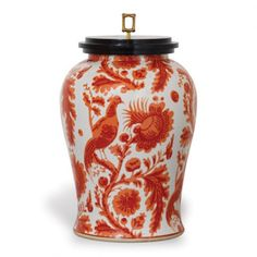 THE WELL APPOINTED HOUSE - Scalamandre Maison Arcadia Coral Porcelain Jar