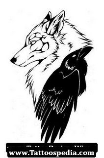 phoenix and the wolf tattoo - Google Search