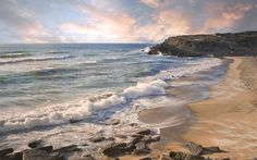Terra/Natureza Praia  Ocean Wave Water Nature Sand Coast Coastline Papel de Parede